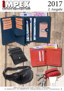 Lederwaren Katalog 2017 - Ausgabe 2
