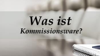 Permalink auf:Was ist Kommissionsware?