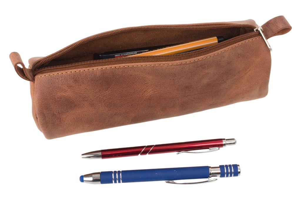 #4000 Hunter Leder Stiftemäppchen